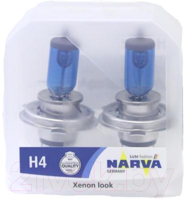 Комплект автомобильных ламп Narva 48680 (2шт, блистер)