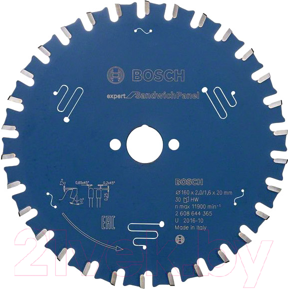 Купить Пильный диск Bosch, 2.608.644.365, Китай