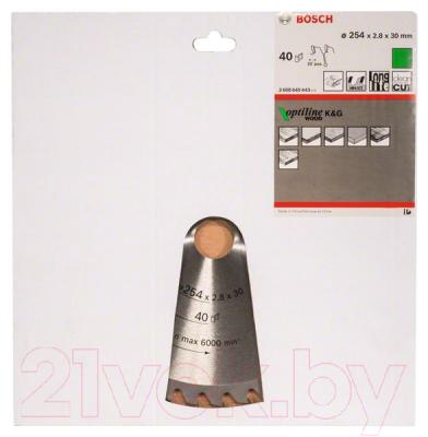 Пильный диск Bosch 2.608.640.443
