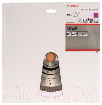 Пильный диск Bosch 2.608.640.447