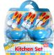 Набор игрушечной посуды NTC Кухонный / 696-21 -