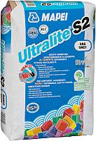 Клей для плитки Mapei Ultra Lite S2 Grey (15кг, серый) -