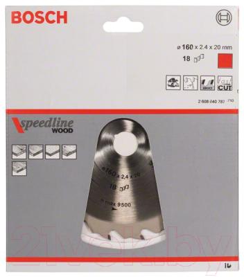 Пильный диск Bosch 2.608.640.787