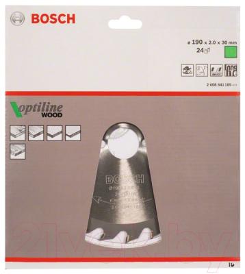 Пильный диск Bosch 2.608.641.185