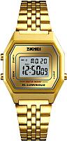Часы наручные мужские Skmei 1345-2 (золото/белый) -