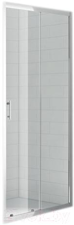 Купить Душевая дверь Roltechnik, SaniPro OBD2/100 (хром/прозрачное стекло), Чехия