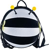Детский рюкзак Котофей 02803114-43 (серебристый) -