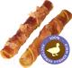 Лакомство для собак Деревенские лакомства Утиные твистеры сушеные (90г) -