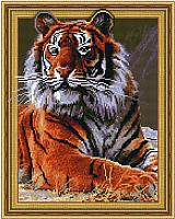 Набор алмазной вышивки Picasso Хозяин джунглей (5PD4050022) -
