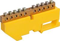 Шина защитная Chint 9901116 (желтый) -
