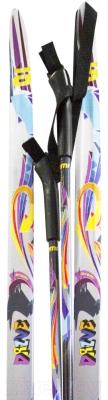 Комплект беговых лыж Atemi Drive NN75 step 150/110