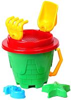 Набор игрушек для песочницы ТехноК Песочный замок / 2278 -