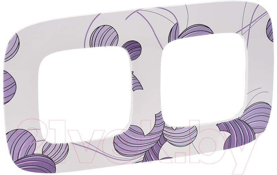 Купить Рамка для выключателя Legrand, Valena Allure 754362 (флора), Франция, пластик, Valena Allure (Legrand)