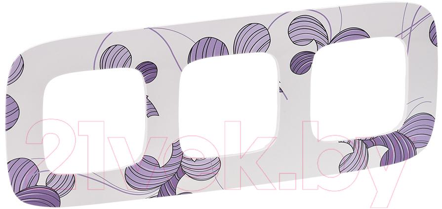 Купить Рамка для выключателя Legrand, Valena Allure 754363 (флора), Франция, пластик, Valena Allure (Legrand)