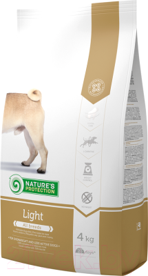 Корм для собак Nature's Protection Adult Light / NPS24329 (4кг)