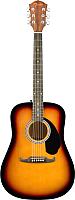 Акустическая гитара Fender FA-125 Dreadnought Sunburst NRW -