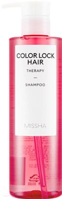 Шампунь для волос Missha Color Lock Hair Therapy Shampoo (400мл)