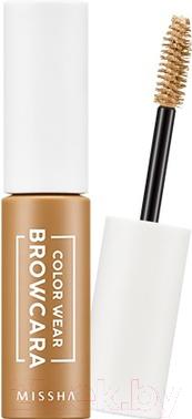 Тушь для бровей Missha Color Wear Browcara Blondy Brown (7.5мл)