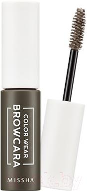 Тушь для бровей Missha Color Wear Browcara Dark Choco Brown (7.5мл)