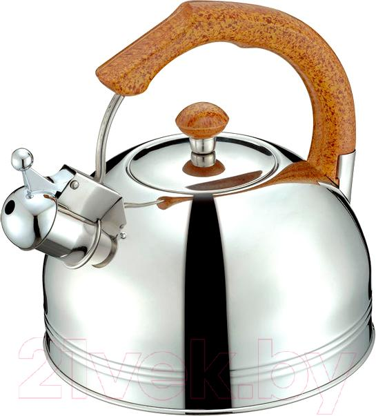 Купить Чайник со свистком Peterhof, SN-1406, Китай, нержавеющая сталь