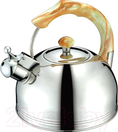 Купить Чайник со свистком Peterhof, SN-1426, Китай, нержавеющая сталь