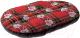 Лежанка для животных Ferplast Relax F 65 / 82065098 (розы на красном) -