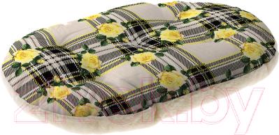 Лежанка для животных Ferplast Relax F 65 / 82065098 (розы на сером)