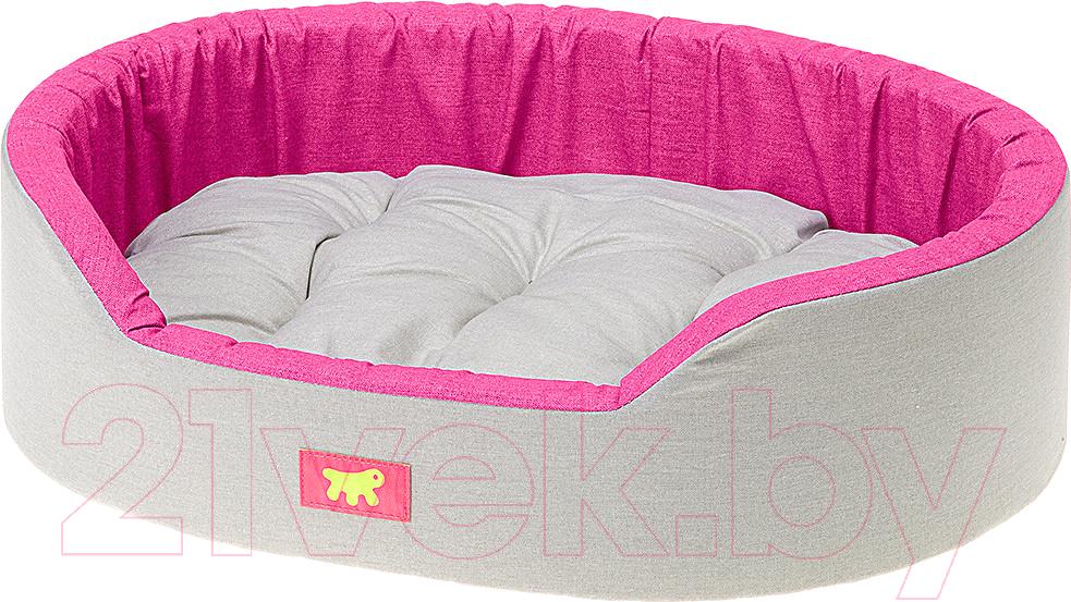 Купить Лежанка для животных Ferplast, Dandy 80 / 82944095 (серый/розовый), Украина