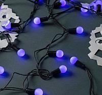 Светодиодная гирлянда Luazon Шарики 671563 (10м, синий) -