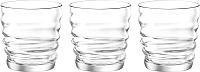 Набор стаканов Bormioli Rocco Рифлесси 580514-990 (3шт) -