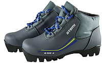 Ботинки для беговых лыж Atemi А300 Jr NNN (серый, р-р 31) -