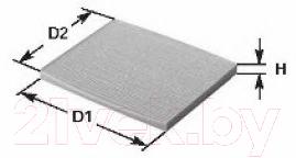 Салонный фильтр Dynamatrix-Korea DCF56