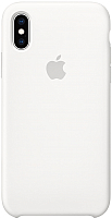 Чехол-накладка Apple Case for iPhone XS White / MRW82 -