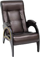 Кресло мягкое Импэкс 41 (венге/Oregon 120) -
