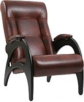 Кресло мягкое Импэкс 41 (венге без лозы/Antik Crocodile) -