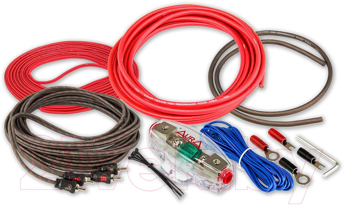 Купить Набор для подключения автоакустики AURA, AMP-0210, Китай