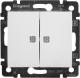 Выключатель Legrand Valena 694290 (белый) -
