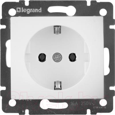Розетка Legrand Valena 694280 (белый)