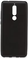 Чехол-накладка Case Deep Matte Nokia 5.1 TPU (черный матовый) -