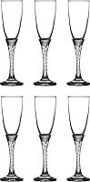 Набор бокалов для шампанского Pasabahce Твист-Консепт 44307/1004524 (6шт) -