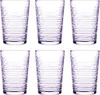 Набор стаканов Pasabahce Гранада 420072/1090727 (фиолетовый) -