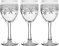 Набор бокалов для вина Pasabahce Сноуфлэйк 44799/1044558 (3шт) -