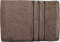 Полотенце Aquarelle Верона 50x90 (темно-коричневый) -