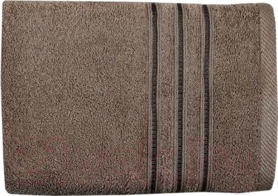 Полотенце Aquarelle Верона 70x140 (темно-коричневый)