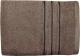 Полотенце Aquarelle Верона 70x140 (темно-коричневый) -