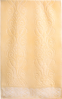 Полотенце Aquarelle Толедо 50x90 (светло-желтый) -