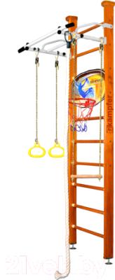 Детский спортивный комплекс Kampfer Helena Ceiling Basketball Shield (классический/белый антик, стандарт)