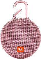 Портативная колонка JBL Clip 3 (розовый) -