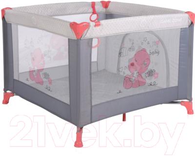 Игровой манеж Lorelli Game Zone My Baby Pink and Grey (10080141878)