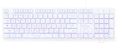 Клавиатура Gembird KB-UML3-01-W-RU